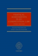 Wijckmans, Frank,   Tuytschaever, Filip Vertical Agreements in EU Competition Law