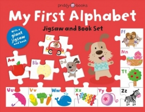 Priddy, Roger My First Alphabet Jigsaw Set [With Jigsaw Floor Puzzle]