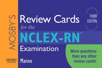 Martin S. Manno Mosby`s Review Cards for the NCLEX-RN Examination