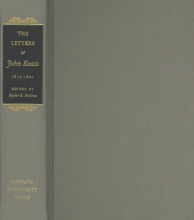 Keats, John The Letters of John Keats, 1814-1821, Volumes 1 and 2