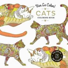 Vive le Color! Cats (adult Coloring Book)
