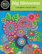 Van Dam, Angelea Hello Angel Big Beautiful Blossoms Coloring Collection