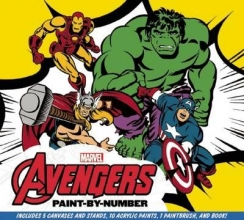 The Avengers Paint-by-Number