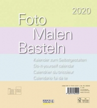 Foto-Malen-Basteln Bastelkalender Pastell 2020