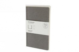 Moleskine Note Card With Envelope Large Light Warm Grey