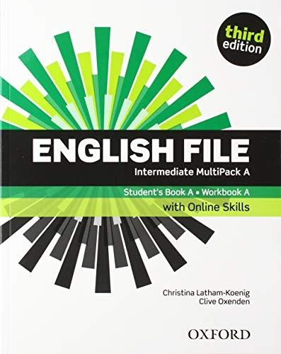 ,English File: Intermediate: Students Book with Osp Multipack a 19 Pack