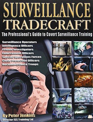 Peter Jenkins,Surveillance Tradecraft