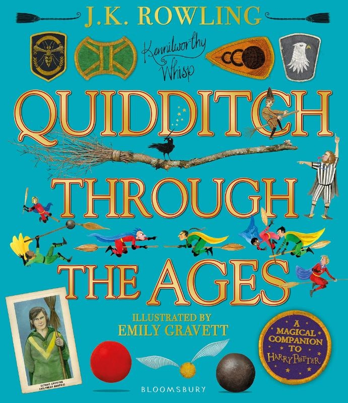 J.K. Rowling, Emily Gravett,Quidditch Through the Ages - Illustrated Edition
