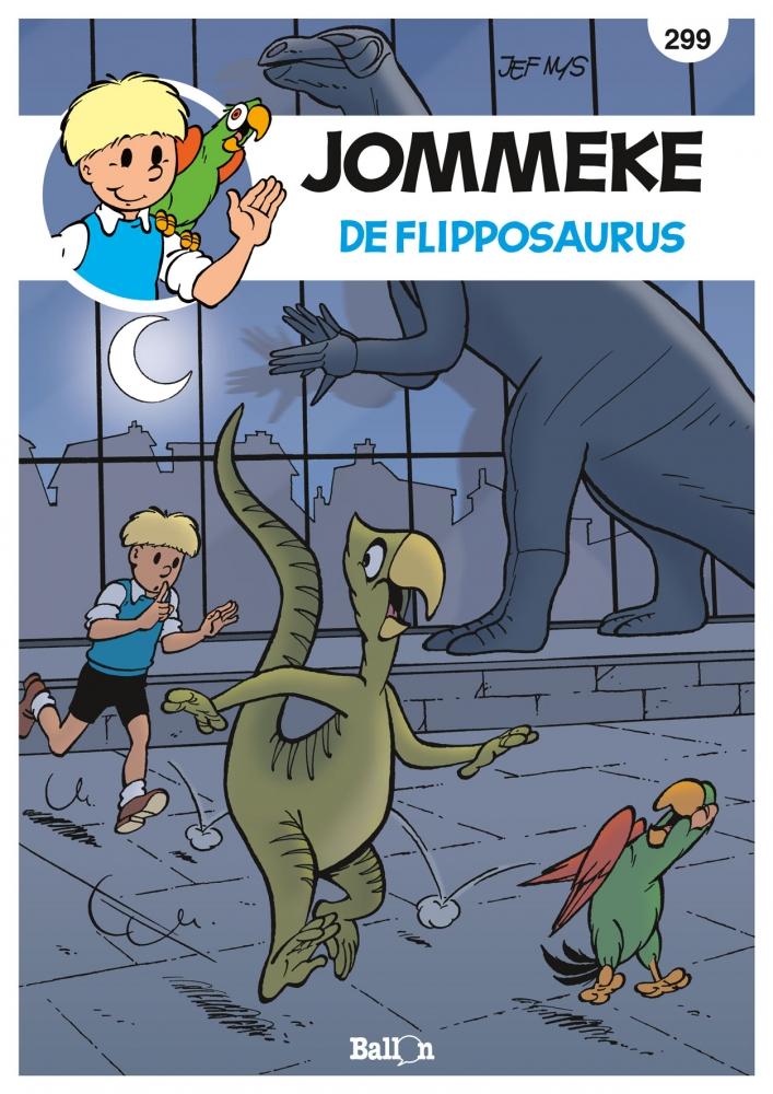 Philippe Delzenne,De flipposaurus