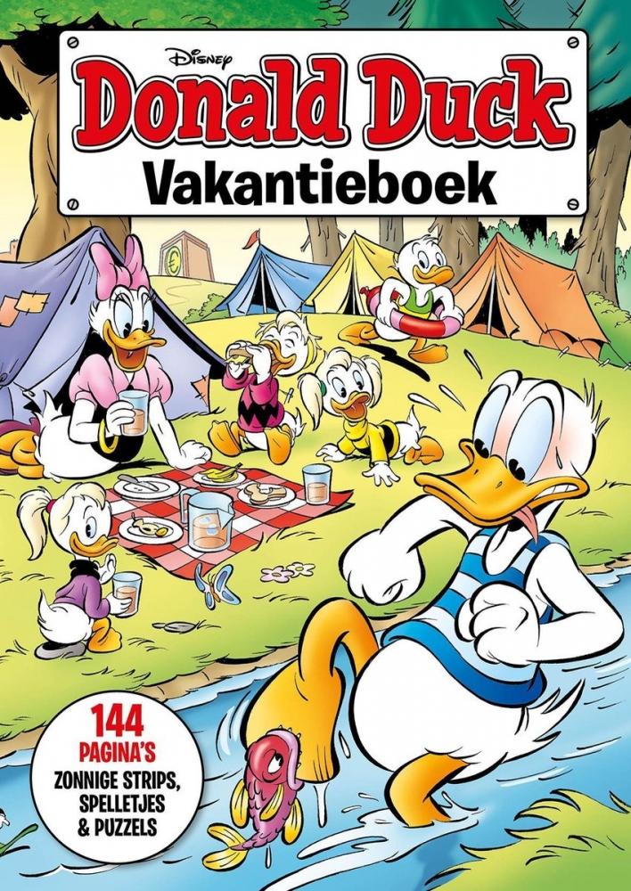 ,Donald Duck Vakantieboek