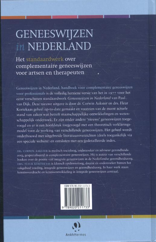 Corwin Aakster, Fleur Kortekaas,Geneeswijzen in Nederland