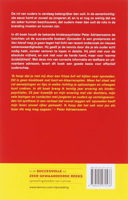 Peter Adriaenssens,Gids voor succesvol opvoeden