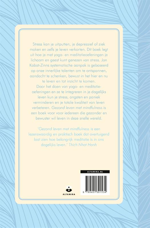 Jon Kabat-Zinn,Gezond leven met mindfulness