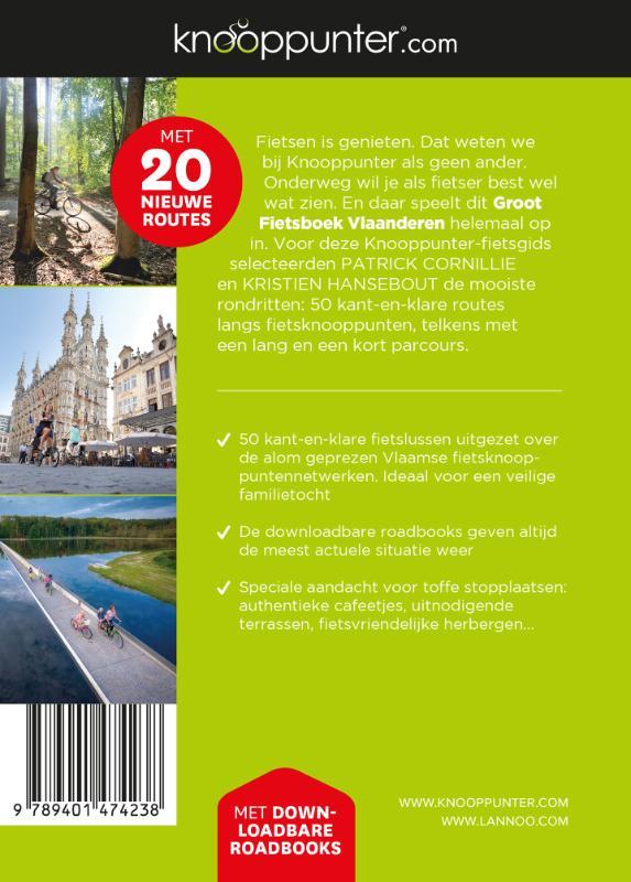 Patrick Cornillie, Kristien Hansebout,Knooppunter groot fietsboek Vlaanderen