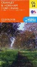 Ordnance Survey Crawley & Horsham, Cranleigh & Billingshurst