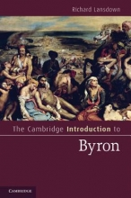 Lansdown, Richard The Cambridge Introduction to Byron