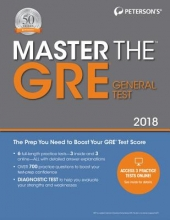 Peterson`s Master the GRE 2018
