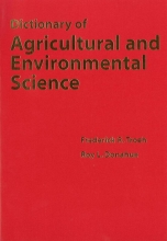 Frederick R. Troeh,   Roy L. Donahue Dictionary of Agricultural and Environmental Science