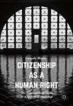 Goncalo Matias,Citizenship as a Human Right