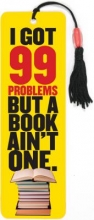 I Got 99 Problems Beaded Bookmark