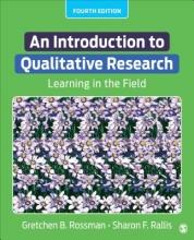Gretchen B. Rossman,   Sharon F. Rallis An Introduction to Qualitative Research