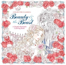 Beauty and the Beast Adult Coloring Book