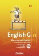 Schweitzer, Bärbel English G 21. Ausgabe B 2. Klassenarbeitstrainer mit Lösungen und Audios Online