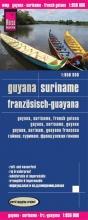 , Reise Know-How Landkarte Guyana, Suriname, Französisch-Guayana (1:850.000)