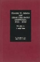 Adorno, Theodor W Briefwechsel 1936 - 1969. Adorno Sohn-Rethel