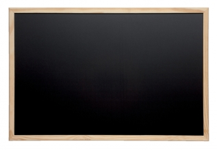 , Krijtbord MAUL 30x40cm onbewerkt hout