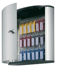 , Sleutelkast Durable 1951 aluminium 18haken 302x280x118mm