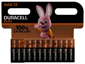 , Batterij Duracell Plus 12xAAA