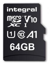 , Geheugenkaart Integral microSDXC V10 64GB