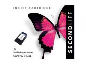 , Cartridge SecondLife Canon PG 540 XL zwart
