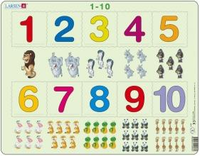 , Larsen puzzel - Puzzel 1-10 - AR3