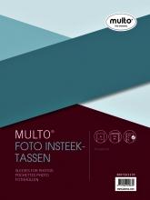 , Fototas Multo A4 23-gaats 3-vaks 10x15cm + schrijfstrook PP transparant