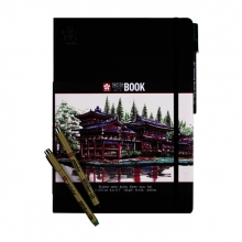 , Schets-notitieboek Sakura A4 wit