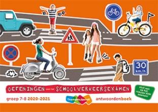 , Oefeningen voor het schoolverkeersexamen groep 7 en 8 2020-2021 antwoordenboek