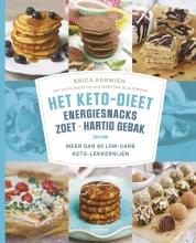 Erica  Kerwien, Martina  Slajerova Het keto-dieet: energiesnacks, zoet en hartig gebak