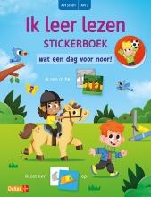 Juliette ROSENKAMP , Ik leer lezen Stickerboek - Wat een dag voor Noor! (AVI START AVI 1)