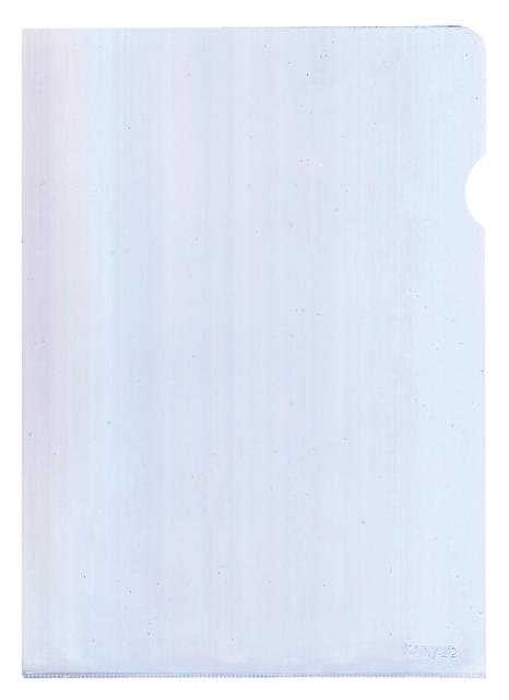 ,Insteekmap L-model Quantore A3 PP 0.18mm nerf transparant