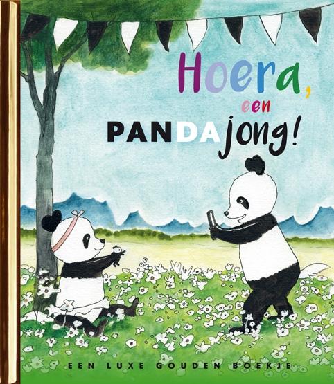 Jet Bakels,Hoera, een pandajong!