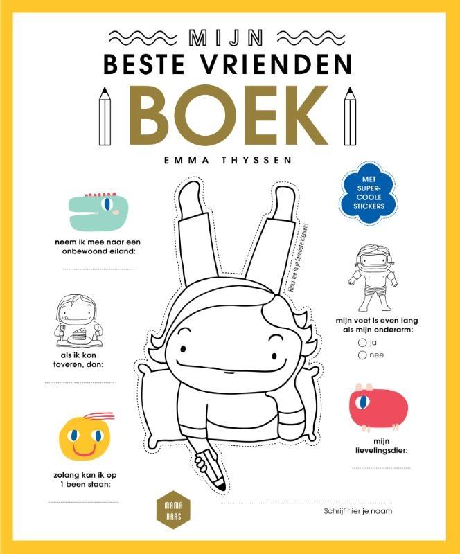 ,Mijn beste vriendenboek
