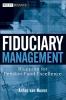 van Nunen, A.,Fiduciary Management