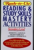 Ph.D., Allen, Henriette L.,Ready-to-Use Reading & Study Skills Mastery Activities