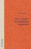Hutchinson, Ben,W.G. Sebald - Die dialektische Imagination