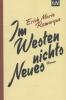 Remarque, Erich Maria,Im Westen nichts Neues