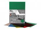 ,schutbladen ProfiOffice A4 200 micron 100 stuks transparant groen