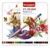 ,<b>Kleurpotloden Bruynzeel Expression colour blik à 24 stuks</b>