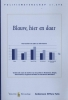 <b>J.H.  Haagsma, I.  Smits, H.  Waarsing, C.J.  Wiebrnes</b>,Blauw, hier en daar